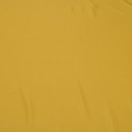 Крепдешин смесовый горчичного цвета