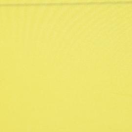 Крепдешин смесовый лимонного цвета