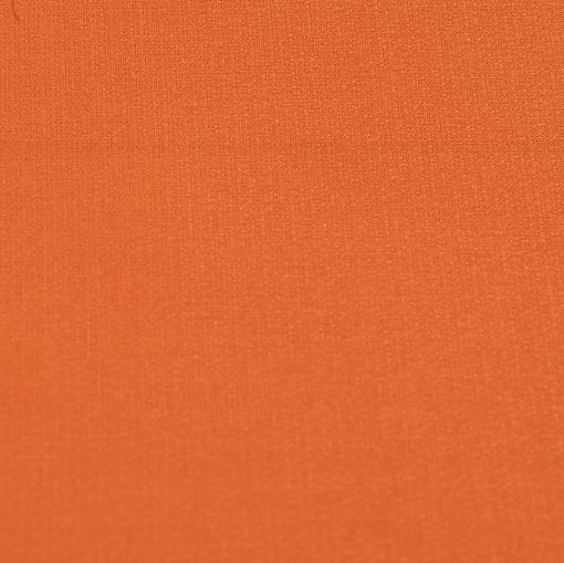 Крепдешин смесовый рыжего цвета