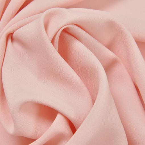 Крепдешин смесовый светло-розового цвета