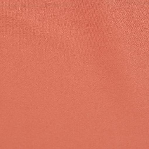 Крепдешин смесовый светло-брусничного цвета
