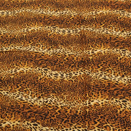 Вискозный трикотаж с леопардовым рисунком