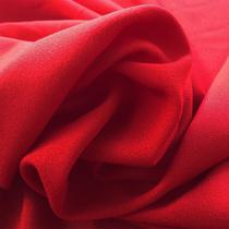 Вискоза плательная Valentino креп-кади красного цвета