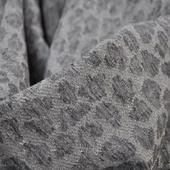 Трикотаж вискозный с люрексом и серыми пятнами
