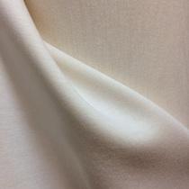 Ткань курточная тонкая  белая двухсторонняя с поролоном внутри