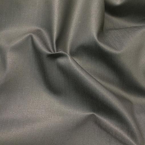 Ткань курточная с пропиткой черного цвета на серой основе