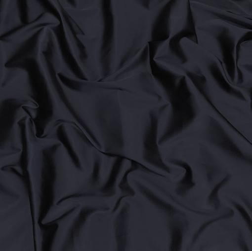 Атлас стрейч Armani темно-синего цвета