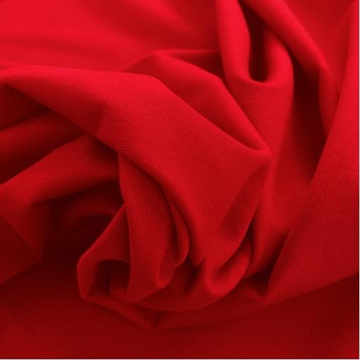 Джерси вискозное плательное темно-красного цвета