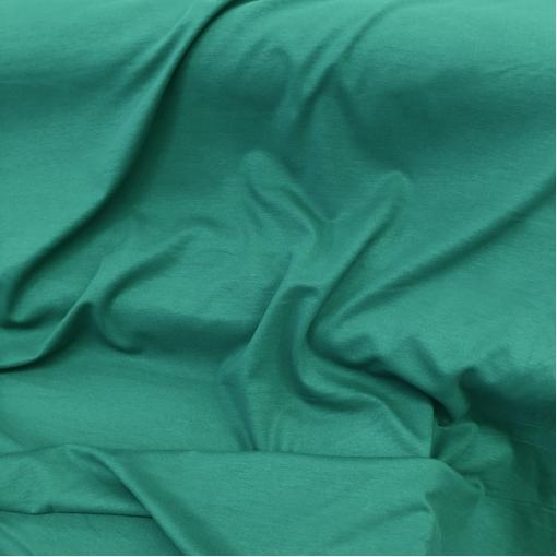 Джерси вискозное стрейч ярко-изумрудного цвета