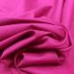 Хлопок костюмный стрейч в мелкий рубчик цвета фуксии