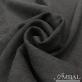 Ткань шерстяная плательная стрейч с малозаметным растительным узором черного цвета