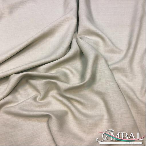 Лен костюмно-плательный мягкий песочно-серого оттенка
