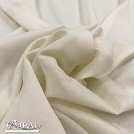 Муслин хлопок с шелком песочно-ванильного цвета