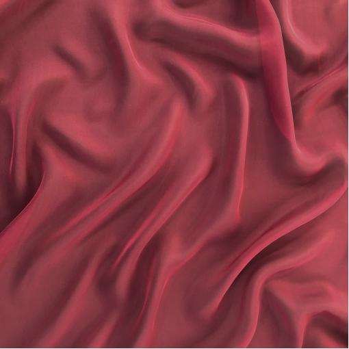 Шелк шифон цвета винного марсала