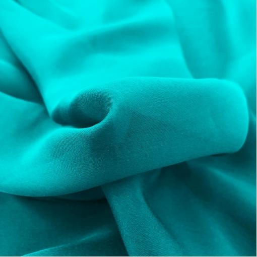 Шелк шифон цвета ярко-голубой бирюзы