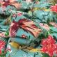 Вискоза плательная стрейч принт Alberta Ferretti птички и райский сад