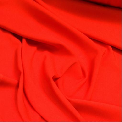 Креп кади вискозный Cavalli алого цвета