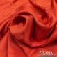 Кади жаккардовый вискозный дизайн Versace вензеля алого цвета
