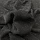 Трикотаж вискозный стрейч черного цвета с элегантным люрексом