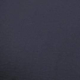 Костюмная шерстяная ткань темно-синего цвета
