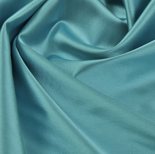 Атлас Armani голубого цвета