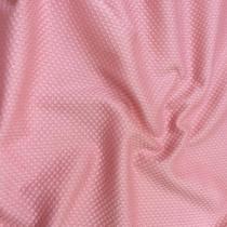 Хлопок костюмный пике принт Aspesi розового цвета
