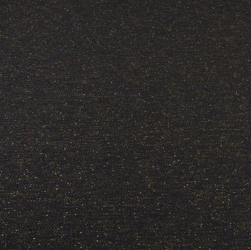 Твид для костюмов темно-синего цвета с небольшим блеском
