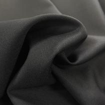 Ткань костюмная тонкая диагональ черного цвета