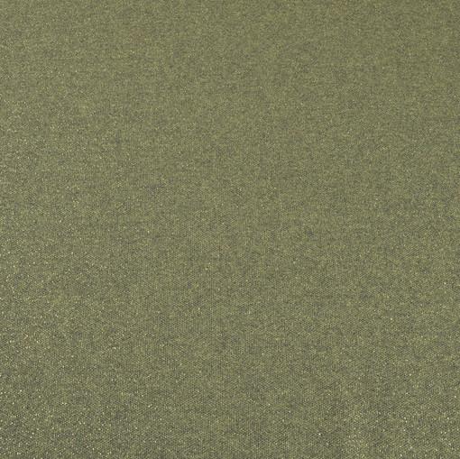 Твид-срейч цвета сосновой хвои с золотым мерцанием