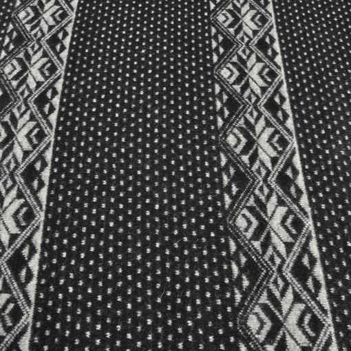 Пальтовая ткань купон скандинавский орнамент