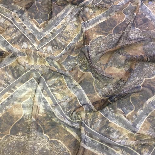 Шелковые шифоновые платки