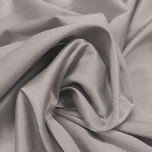 Атлас стрейч костюмный Armani светло-серого цвета