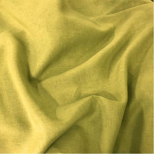 Лен плательно-костюмный Ferragamo цвета золотистого лайма
