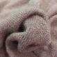 Трикотаж смесовый теплый пыльно-розового цвета