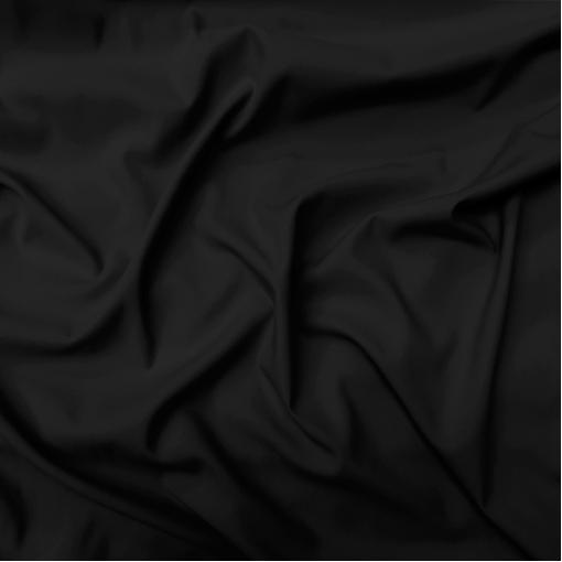Кади вискозное креп стрейч черного цвета