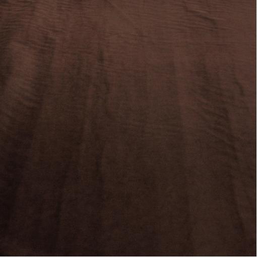 Вискозный бархат шоколадного цвета