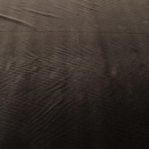 Вискозный бархат коричневого цвета