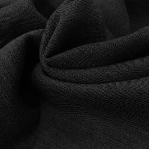 Джерси шерстяное плотное цвета горького шоколада