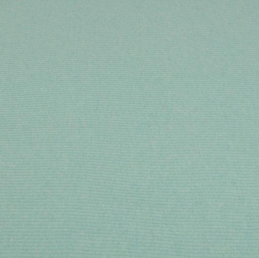 Светло-бирюзовый шерстяной трикотаж лапша