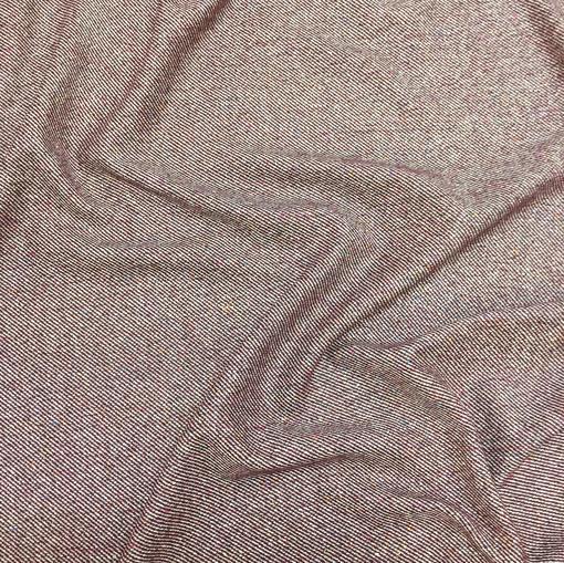 Твид костюмный стрейч Armani в сливово-бежевых тонах