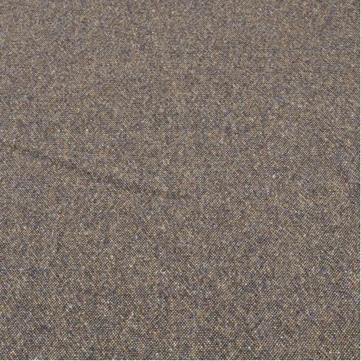 Шерстяной твид темно-песочного цвета с крапинами желтого и сиреневого цвета