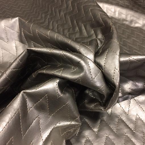 Курточная стеганая ткань Missoni под кожу