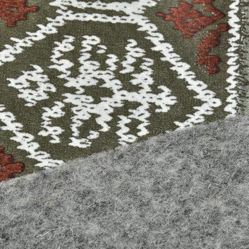 Курточно-дубленочная ткань со скандинавским орнаментом