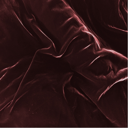 Бархат вискозный стрейч Valentino цвета бордо