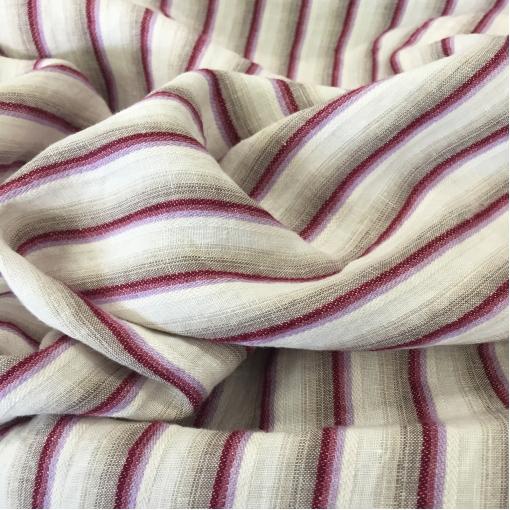 Лен дизайн Ferragamo с  оригинальной тканой полосой