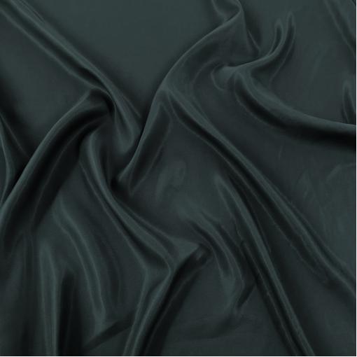 Шелковый подклад Max Mara цвета антрацит с бирюзой