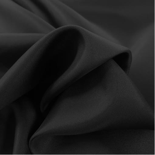 Шелковый подклад Max Mara черного цвета