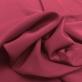 Шелк креповый с ацетатом малиново-винного цвета