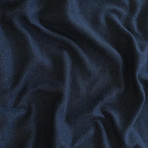 Лоден шерстяной стрейч цвета темная мурена