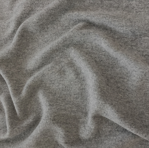 Лоден шерстяной стрейч светло-серого цвета
